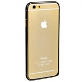 Бампер Fashion Black&Gold для iPhone 6 4,7""