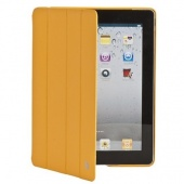 Чехол Jisoncase Executive желый для iPad 2,3,4