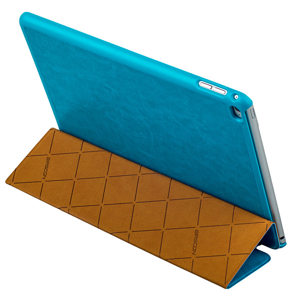 Чехол Birscon Fashion голубой для iPad Air 2
