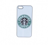 Кейс для iPhone 5/5S/SE Starbucks белый