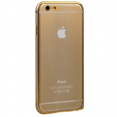 Бампер Fashion Gold для iPhone 6 4,7""