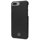 Кейс Mercedes для iPhone 7 Plus Perforated Black MEHCP7LCSPEBK