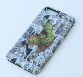 Кейс для iPhone 7 Plus матовый пластик Hulk