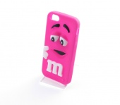 Кейс для iPhone 5/5S/SE M&Ms Розовый