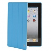 Чехол JisonCase Executive голубой для iPad 2,3,4