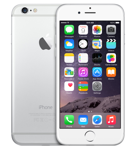 Apple iPhone 6 128Gb Silver РСТ